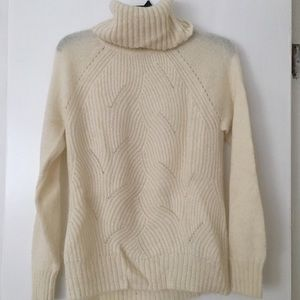 Rebecca Taylor Brushed Pointelle Sweater! Size S